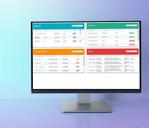VeriFIX dashboard all panels